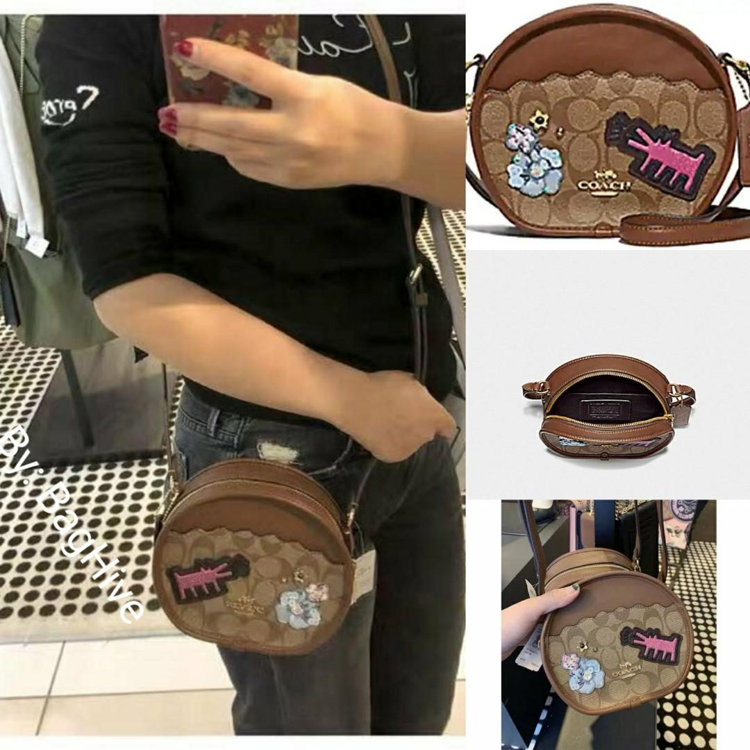Sale🎊Authentic Coach Keith Haring Crossbody