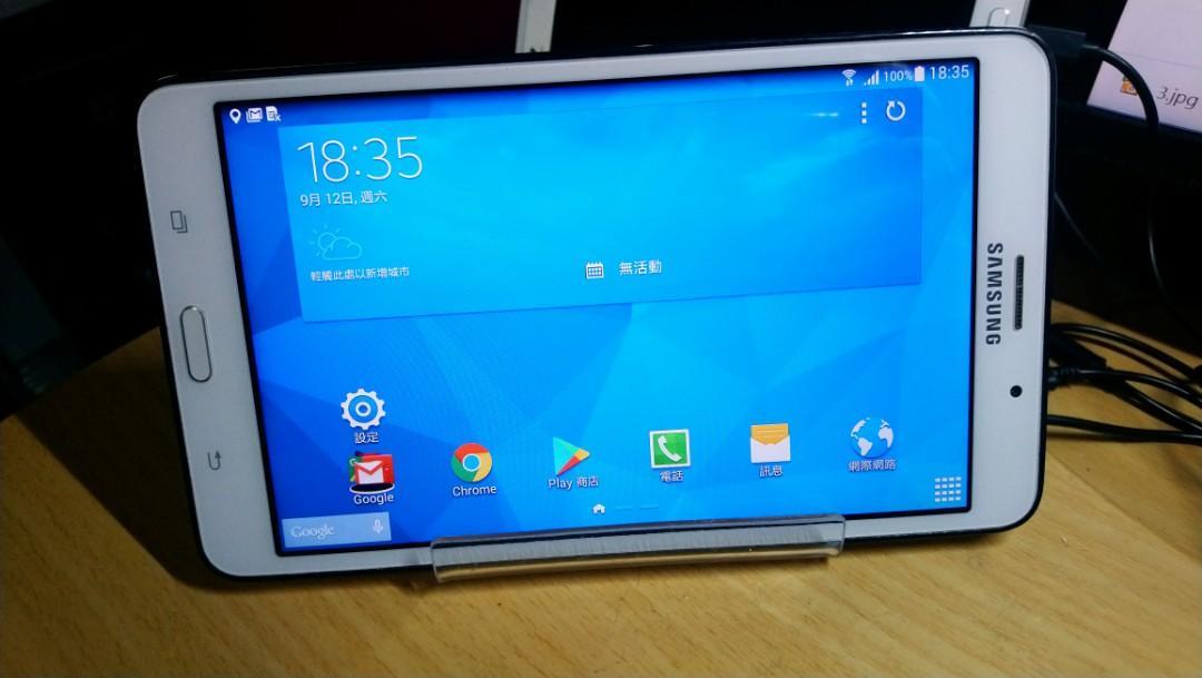 SAMSUNG GALAXY Tab 4 7.0 LTE SM-T235Y 7吋 通話平板,4G+ WiFI,功能正常
