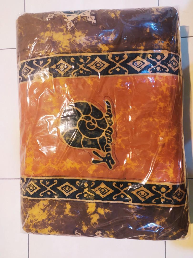 Selimut motif bali ukuran 200cm x 180 cm