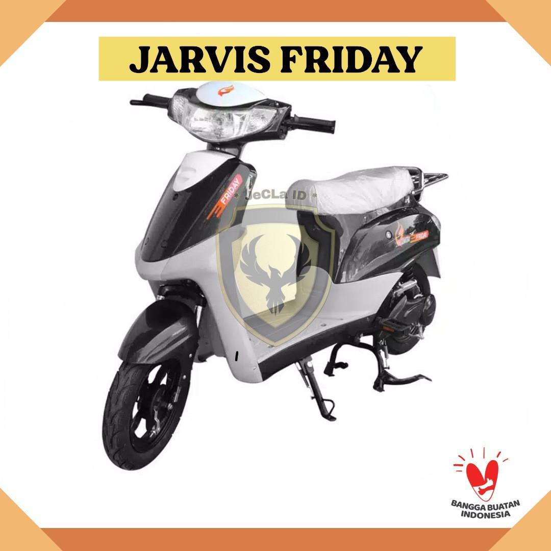 Sepeda Listrik JARVIS FRIDAY (Cash/Credit) DP Cuma 700rb