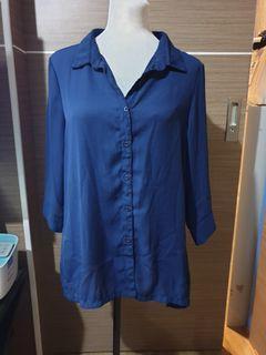 Sm Woman blue blouse