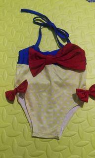 Snow white swimsuit