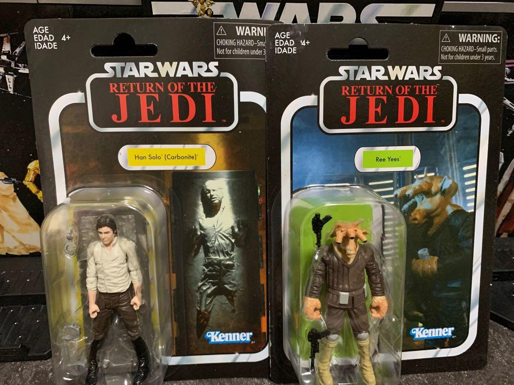 LOOSE MINT Jabba's Palace Vintage Collection VC136 Han Solo w// Carbonite