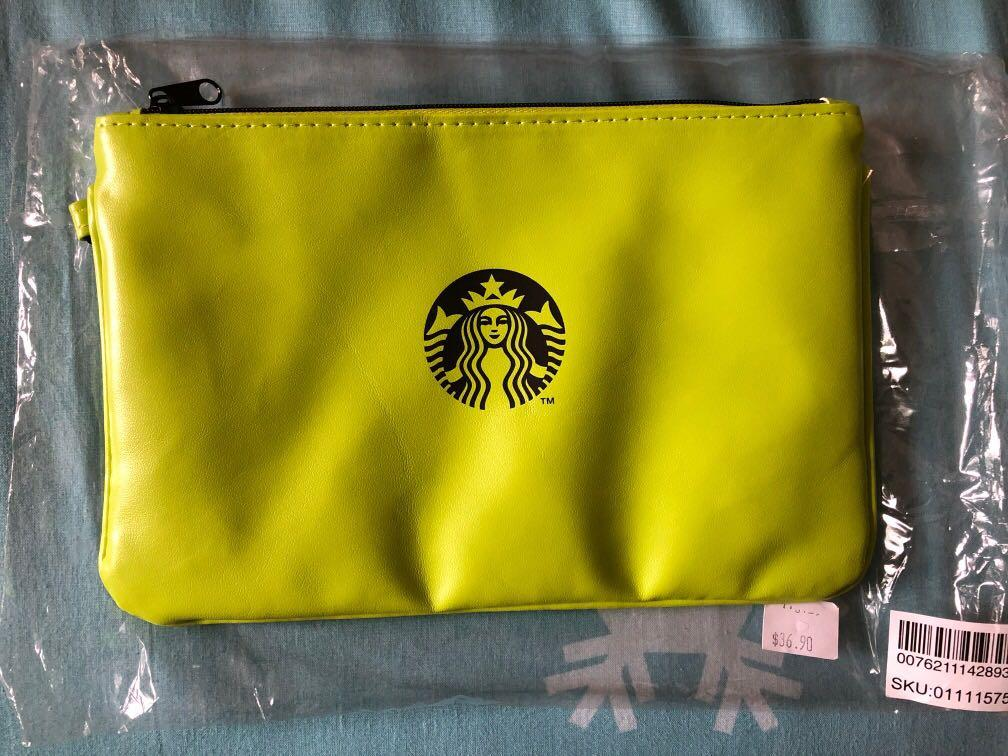 starbucks x undefeated Pouch
