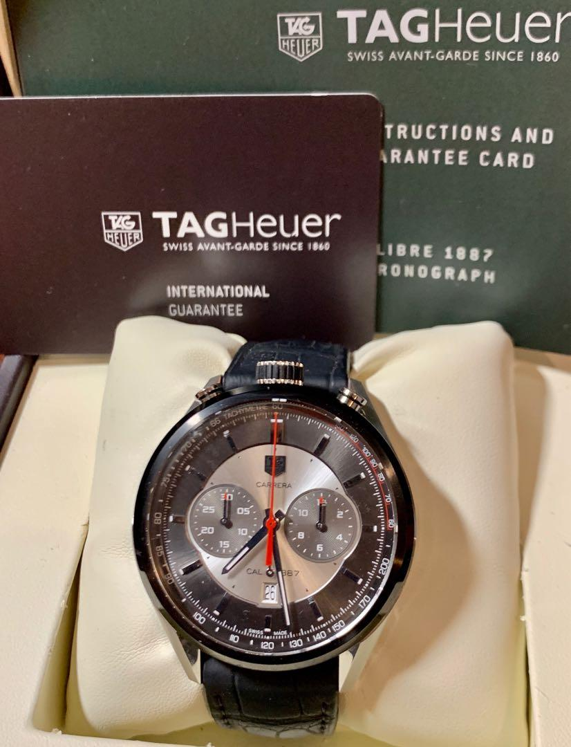TAG Heuer Carrera Chrongraph Calibre 1887 Jack Heuer Edition