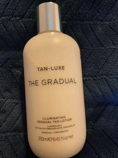 Tan-luxe the gradual illuminating tanning lotion