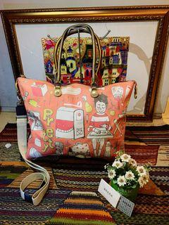 Tas Brera Italy Totebag with Authentic Card
