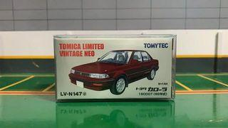 Tomica Limited Vintage LV-N147 Toyota Corolla 1600GT AE92 Red