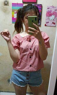 Top 2ways pink