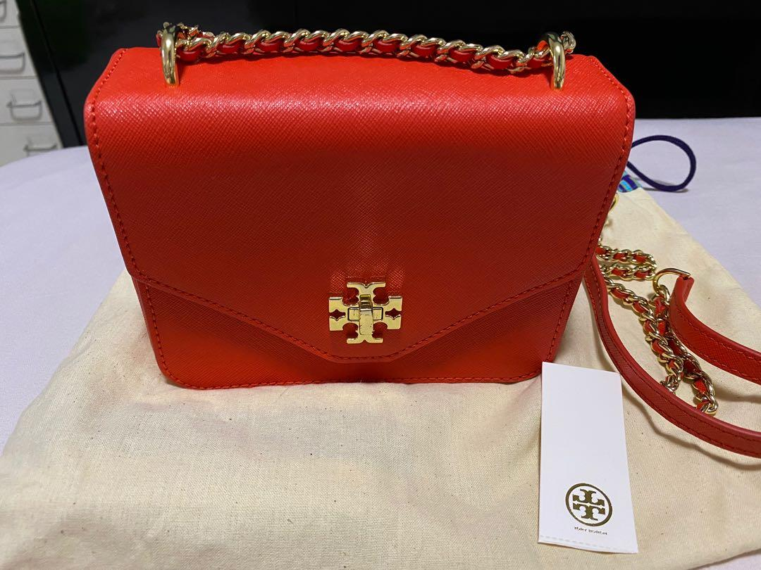 Tory Burch Poppy Red Sling Bag