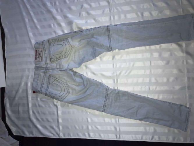 True religion motto biker jeans