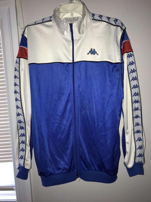 vintage kappa track jacket