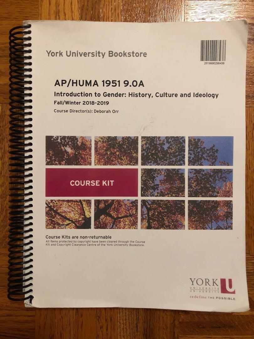 YorkU HUMA 1951 9.0 Course Kit