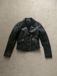 Zara Leather Jacket (m)