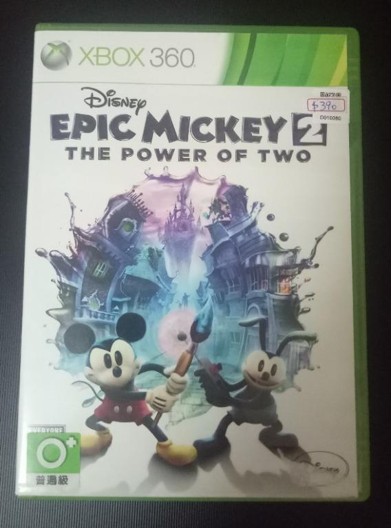 傳奇米奇2 二人之力 XBOX 360 Disney Epic Mickey 2 XBOX360