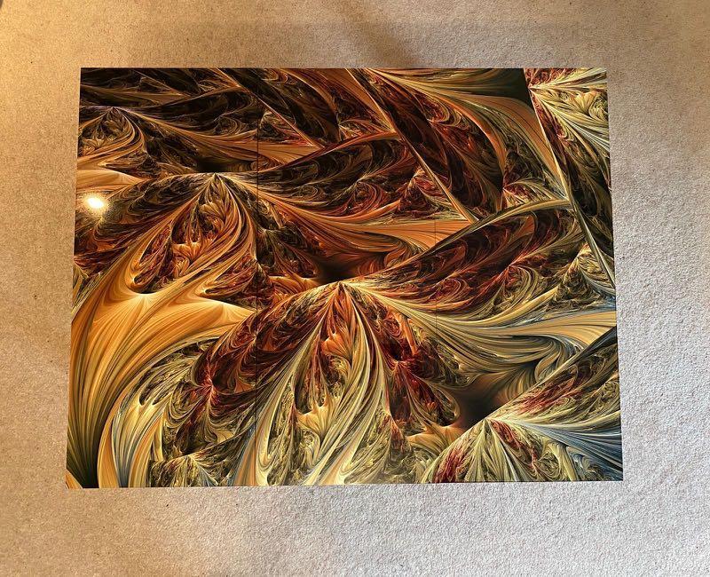 3 pieces canvas
