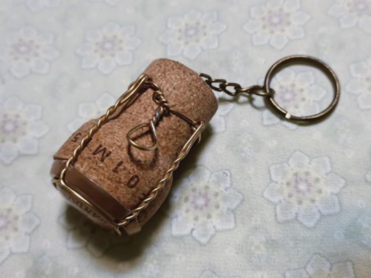 手作鑰匙圈/吊飾 軟木塞