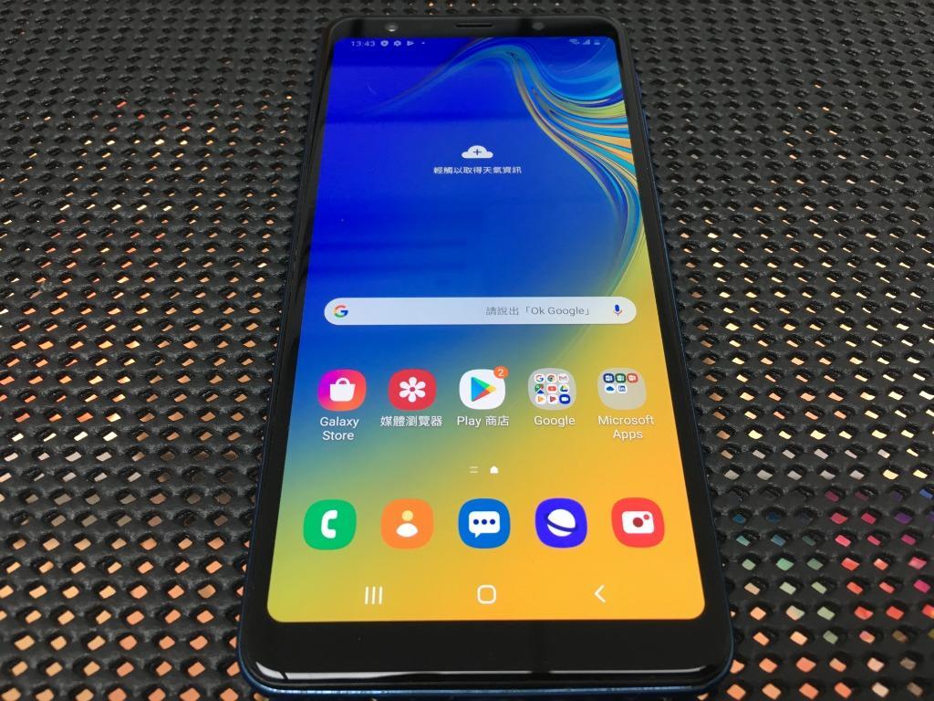 售三星 A7 2018 A750 6吋 4G/128G 藍色