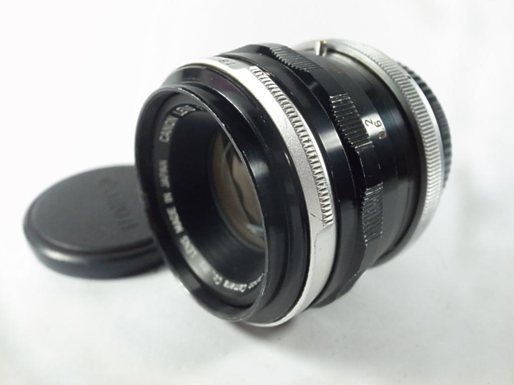 [一直攝] Canon FL 50mm F1.8鏡頭