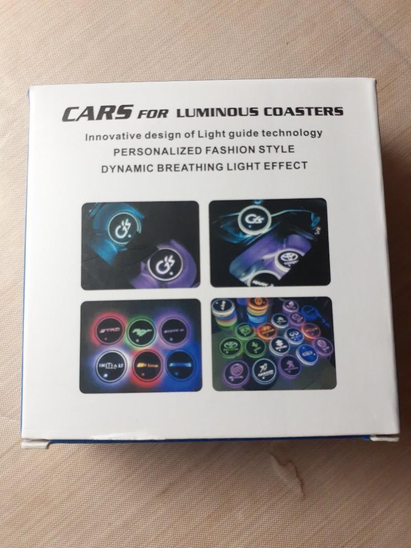 *小小雜貨舖*  Cars for luminous coasters 車子發光杯墊