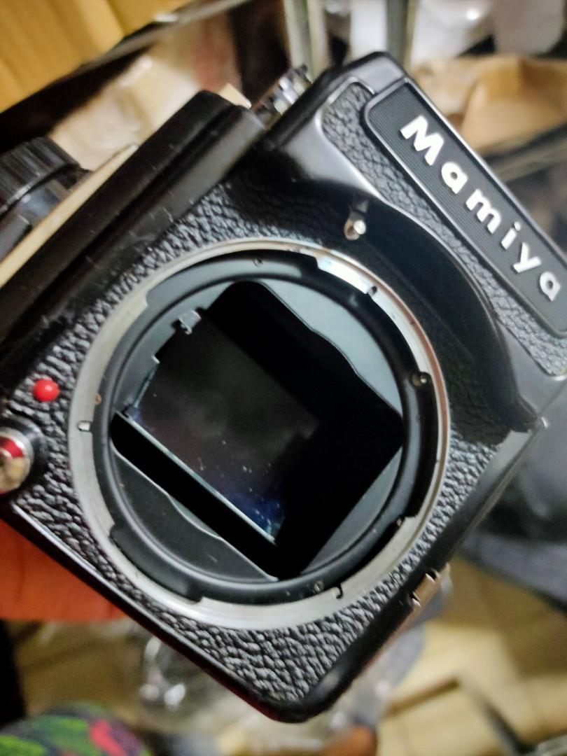 機身 mamoya m645 含。觀景器 有黑色橫變質 不影響