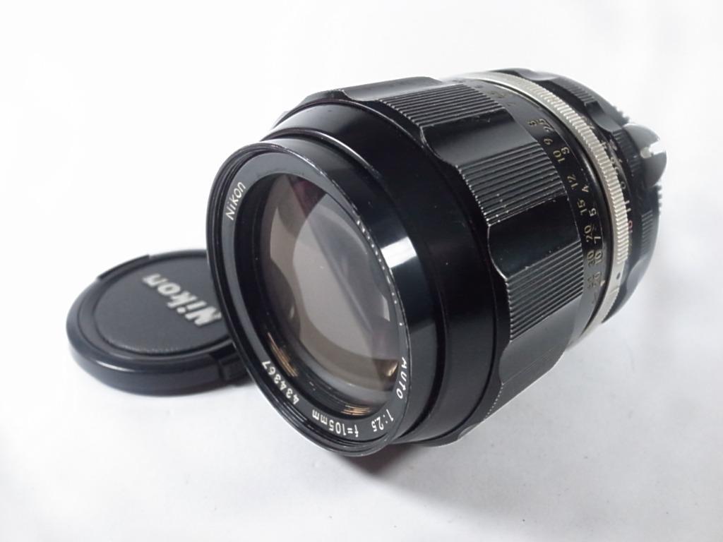 [一直攝] Nikon Nikkor-P Auto 105mm F2.5鏡頭