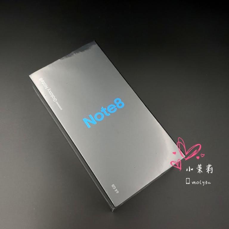 全新未拆 Samsung N950 Note 8 灰 雙卡雙待 6.3吋 6G+64G Note8