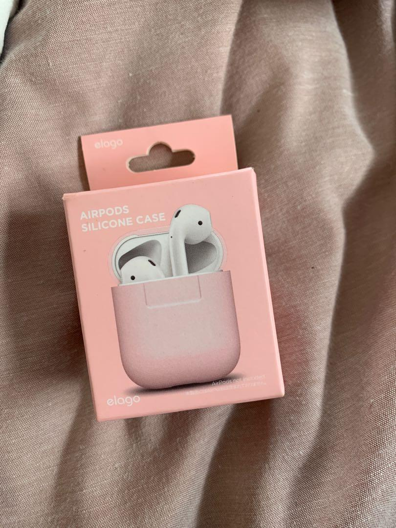 AirPod case pink