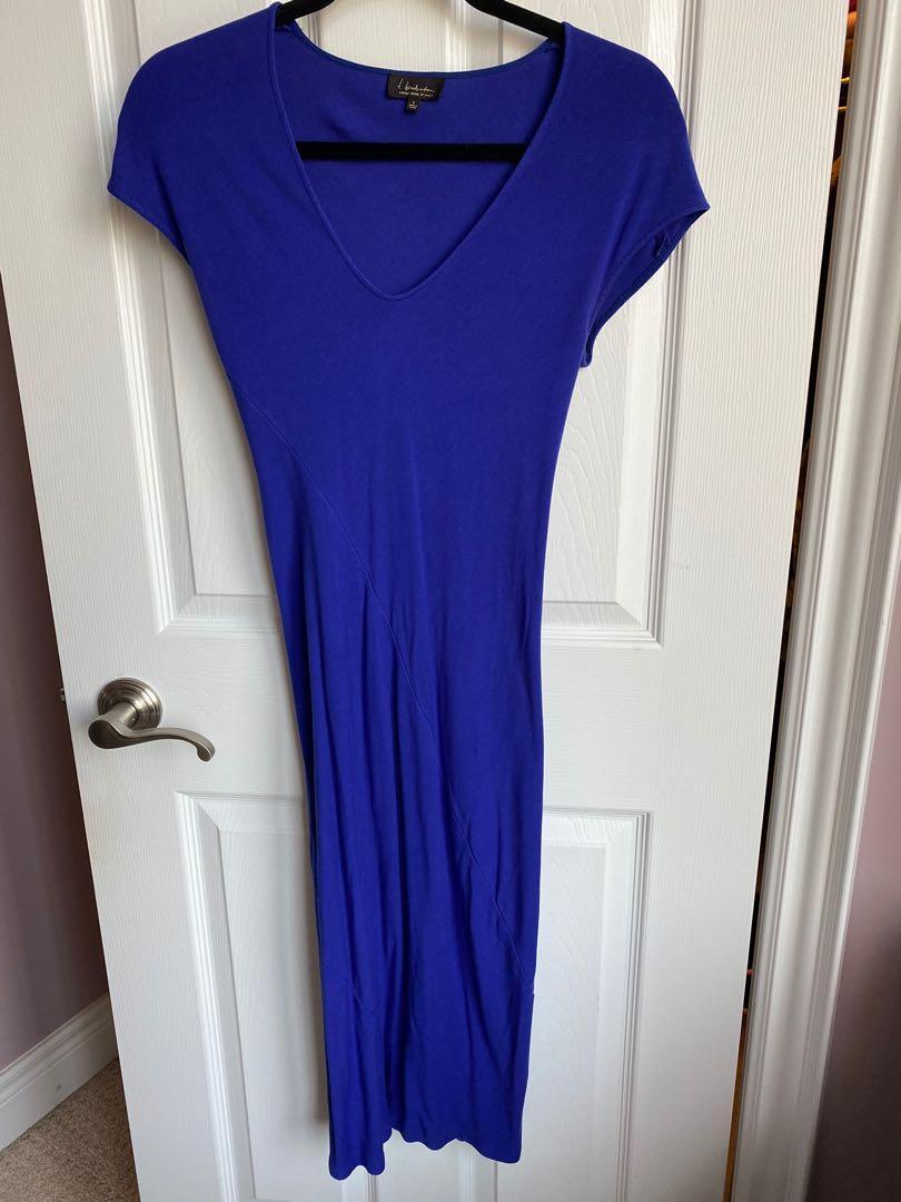Babaton body con maxi dress
