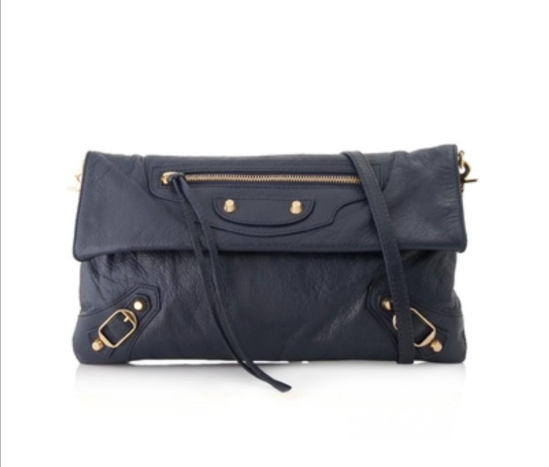 Balenciaga envelope clutch