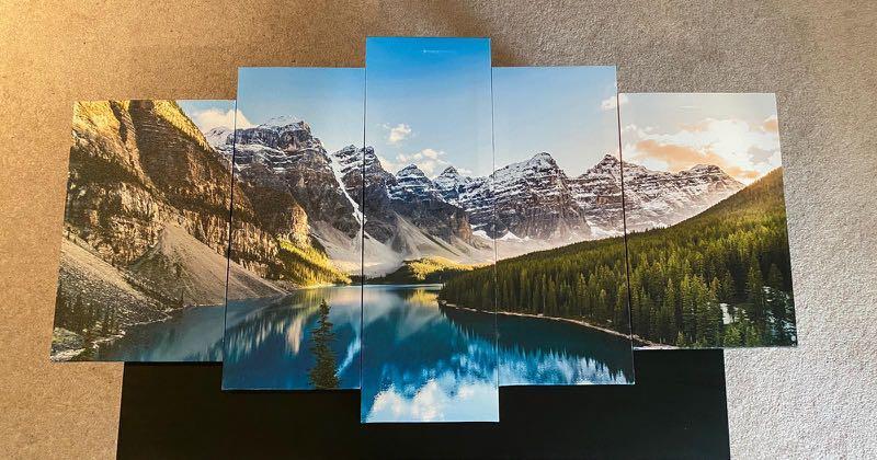 Banff 5 Pieces Canvas