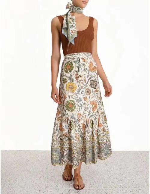 BN authentic zimmermann linen skirt