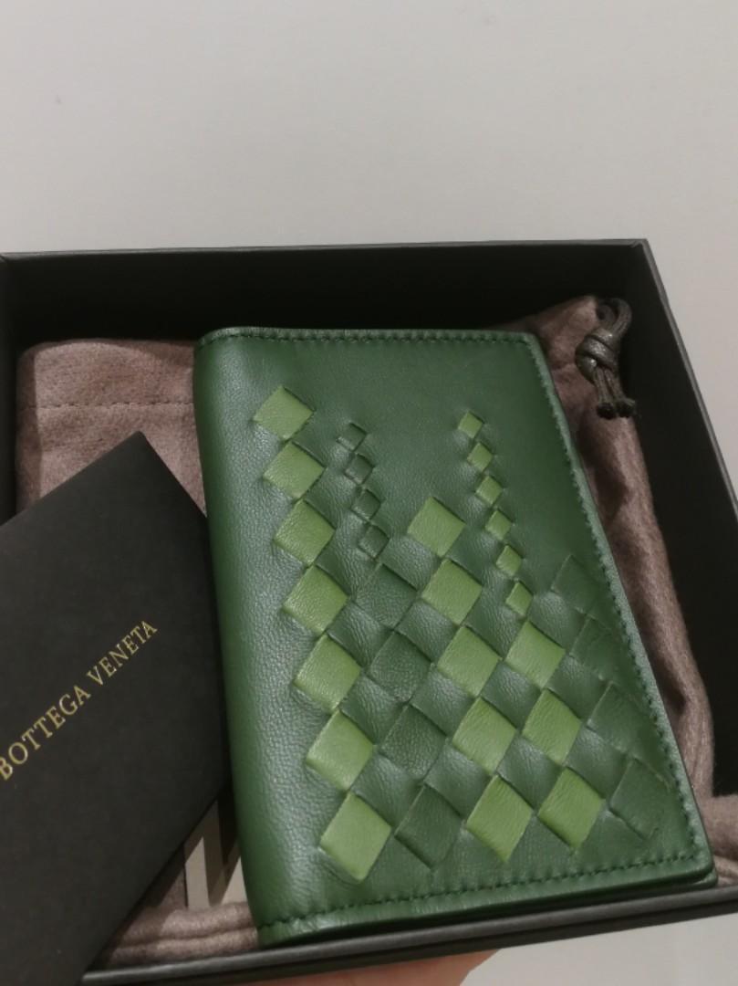 Bnib Bottega Veneta Unisex Card Case Authentic