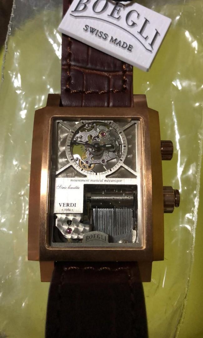 Boegli Mechanical Musical watch