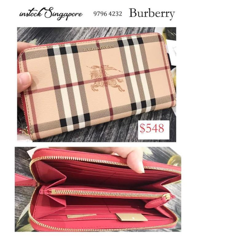 Brand New Authentic Instock Burberry Wallet