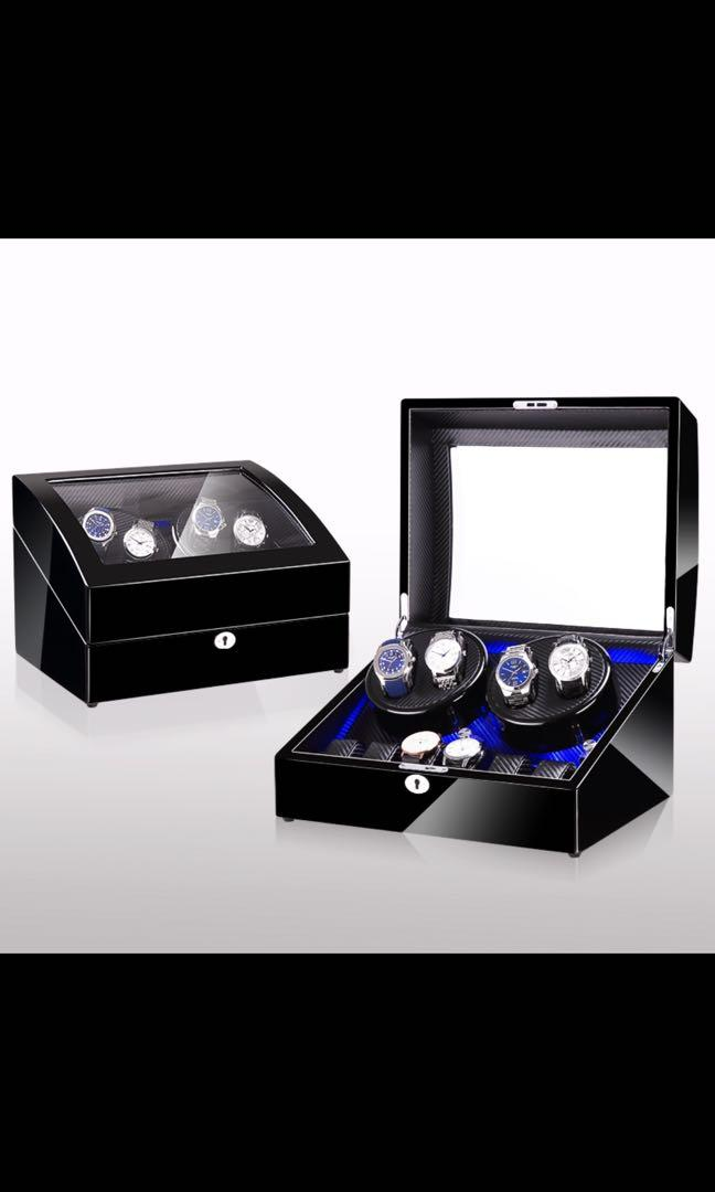 Brand new automatic smart watch winder with LED lighting for sale!