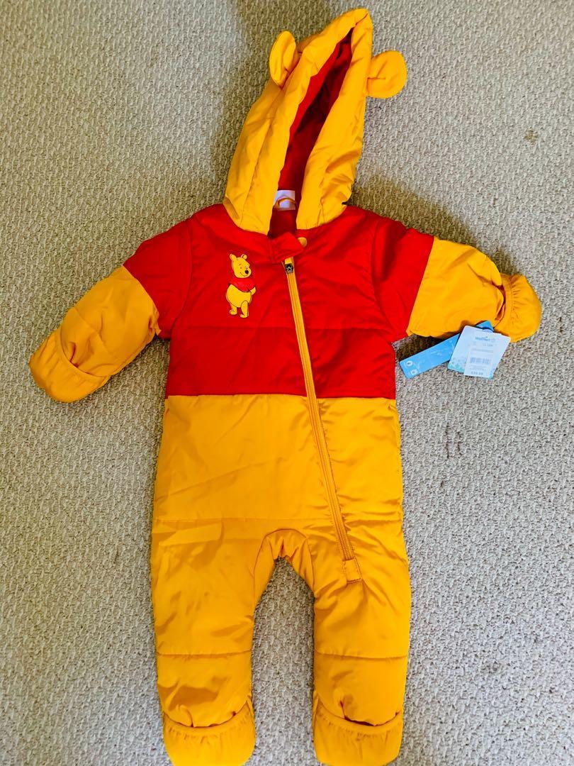 Brand new Disney baby Winnie the Pooh snowsuit sz 12-18m