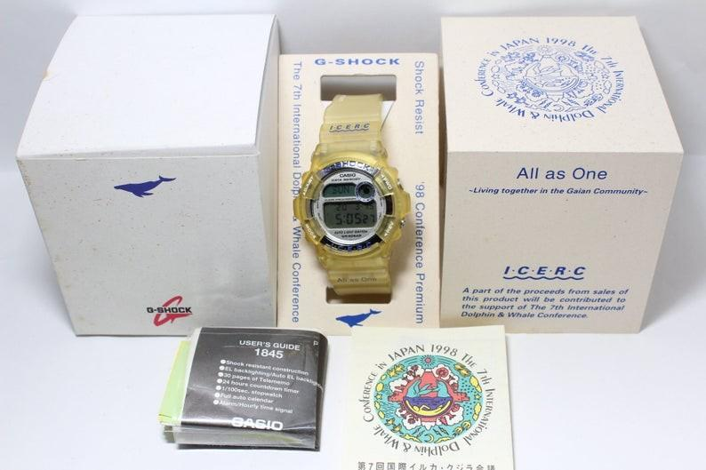 gshock CASIO G-SHOCK DW-9200 Dolphin Whale Icerc All as One