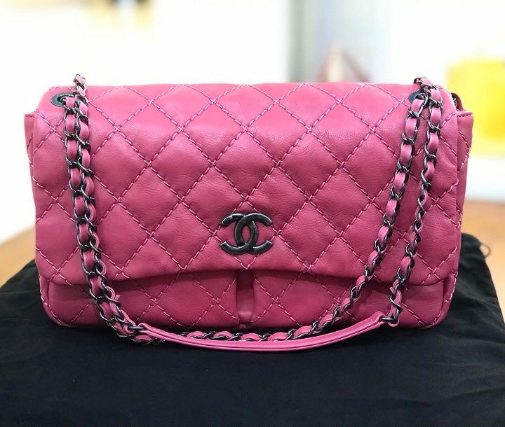 Chanel Pink Seasonal Pocket Flap Bag