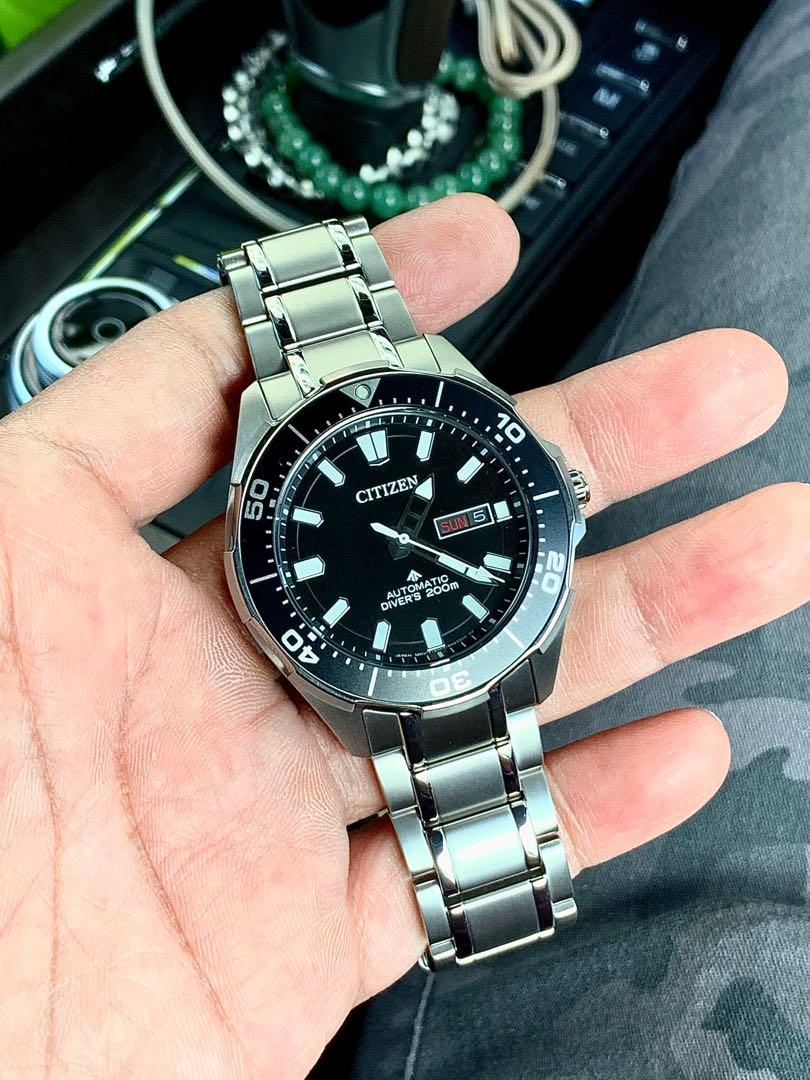 Citizen Promaster Marine Titanium NY0070-83E. (Please read my list details for your requirement)