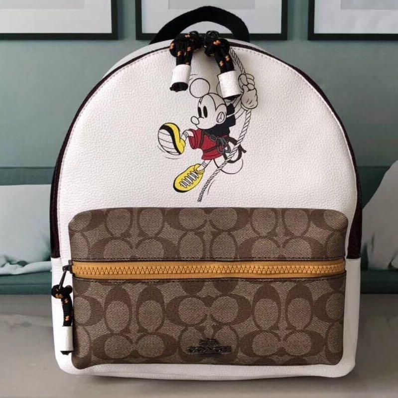Coach Mickey Mouse Backpack