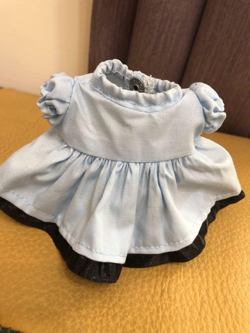 日本迪士尼Disney 達菲熊/畫家貓 手工縫製娃娃衣服