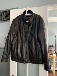Faux leather Jacket  with faux fur lining