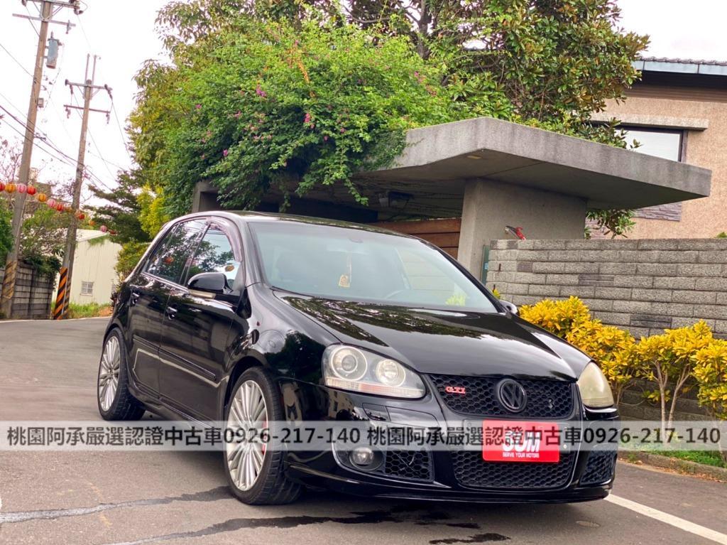 【FB搜尋桃園阿承】福斯 超人氣GTI 2005年 2.0CC 黑色 二手車 中古車