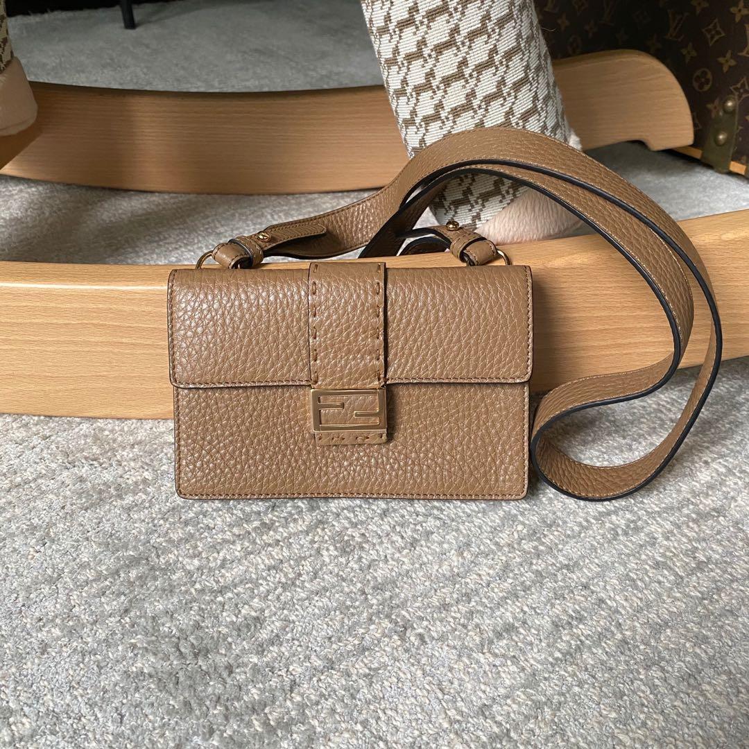 Fendi Micro Baguette Sling / Belt bag