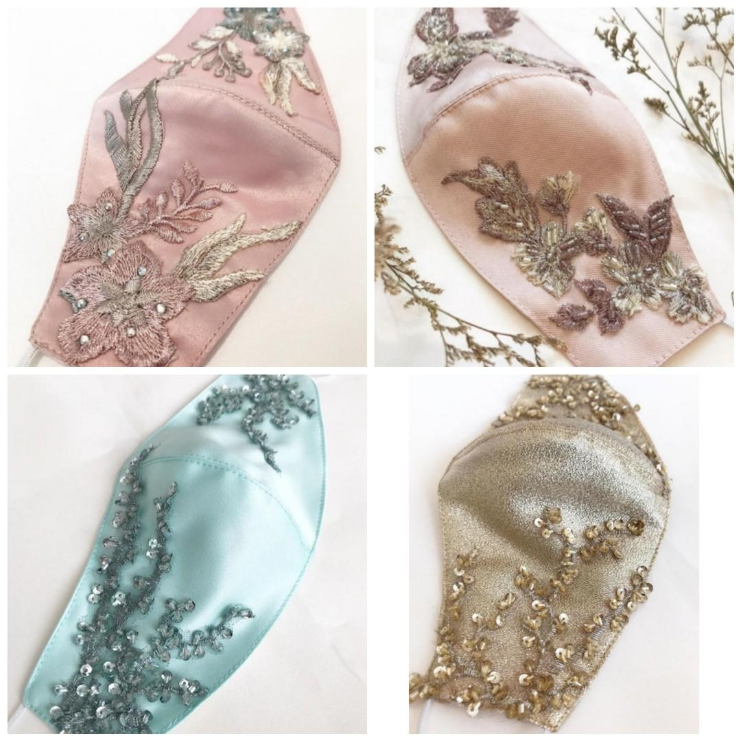 Flowery series reusable face mask adult