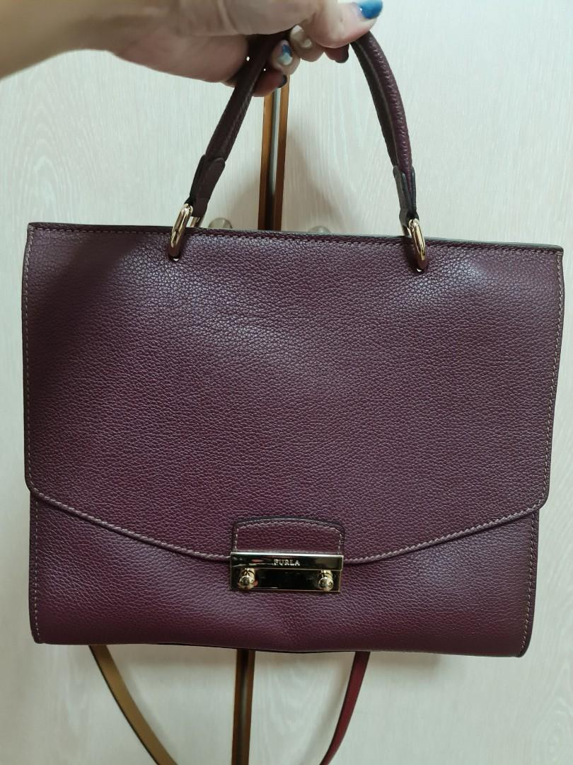 Furla Julia Leather Bag