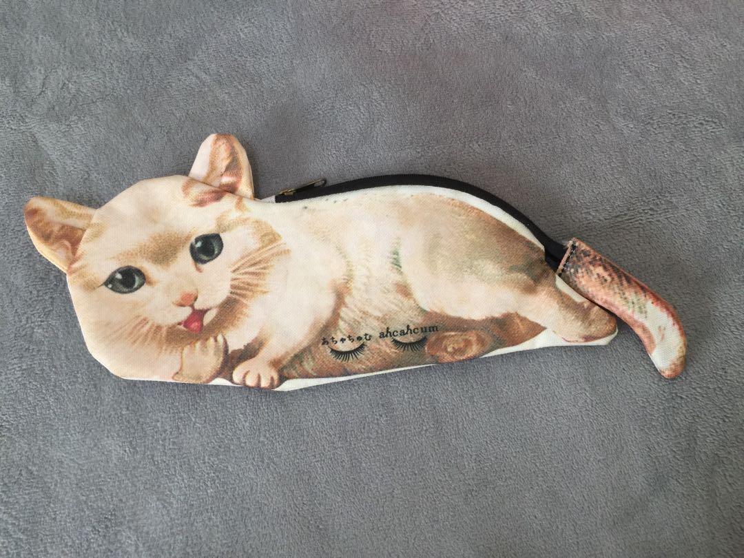 #GIVE •貓咪筆袋 小物包♻️#賣場300$免運+可免費贈送#GIVE商品