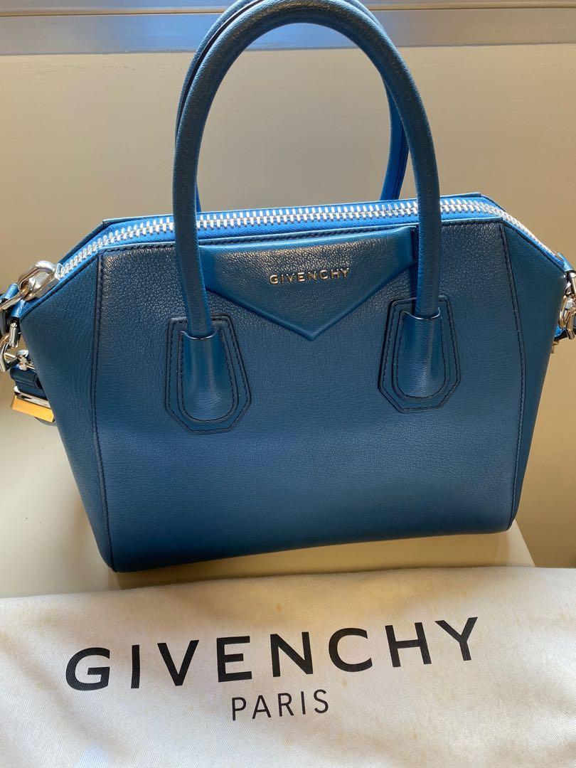 Givenchy  blue - small antigona leather bag