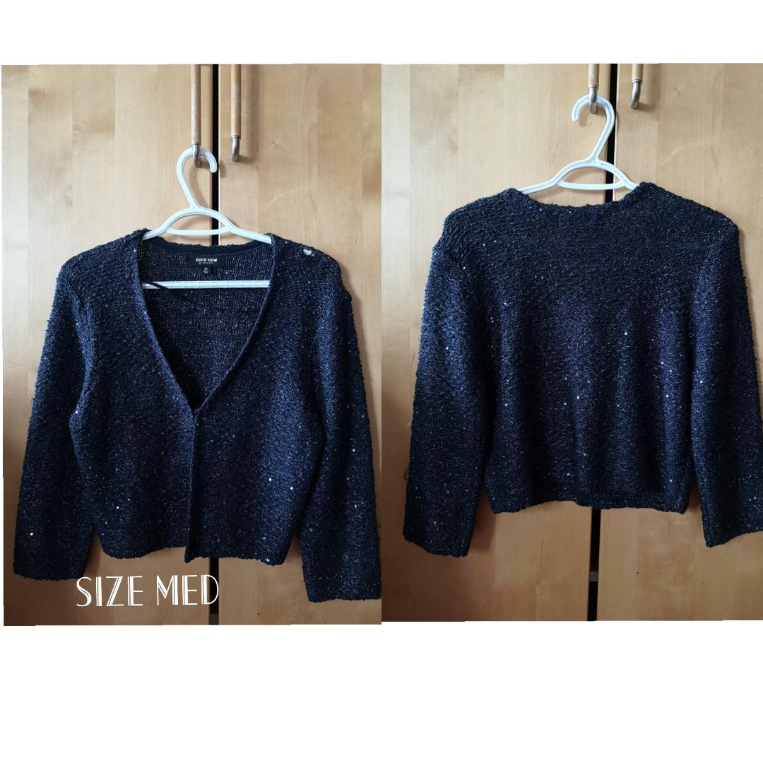 Glittery Navy Blue Sweater